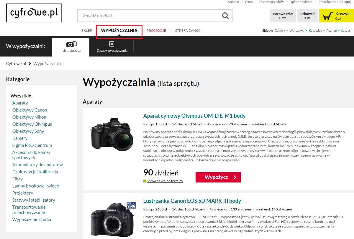 wypozyczalnia cyfrowe.pl