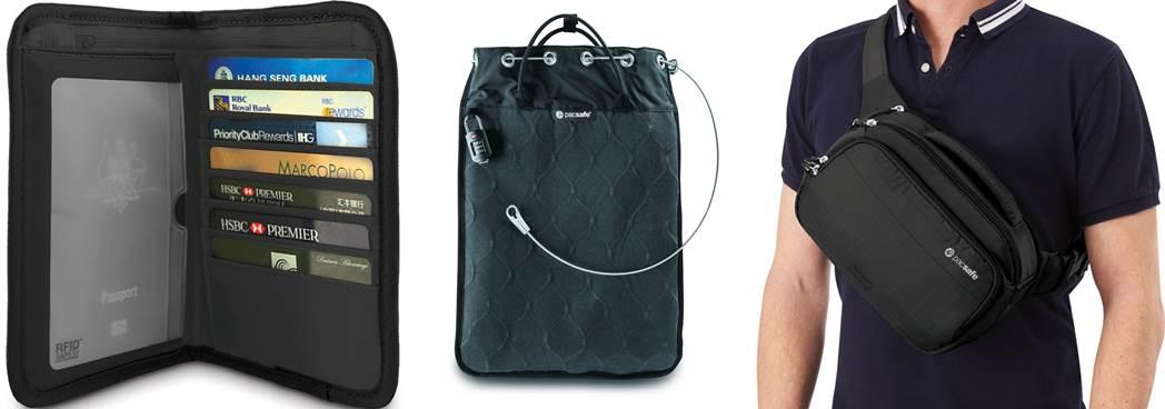 packsafe torba na aparat