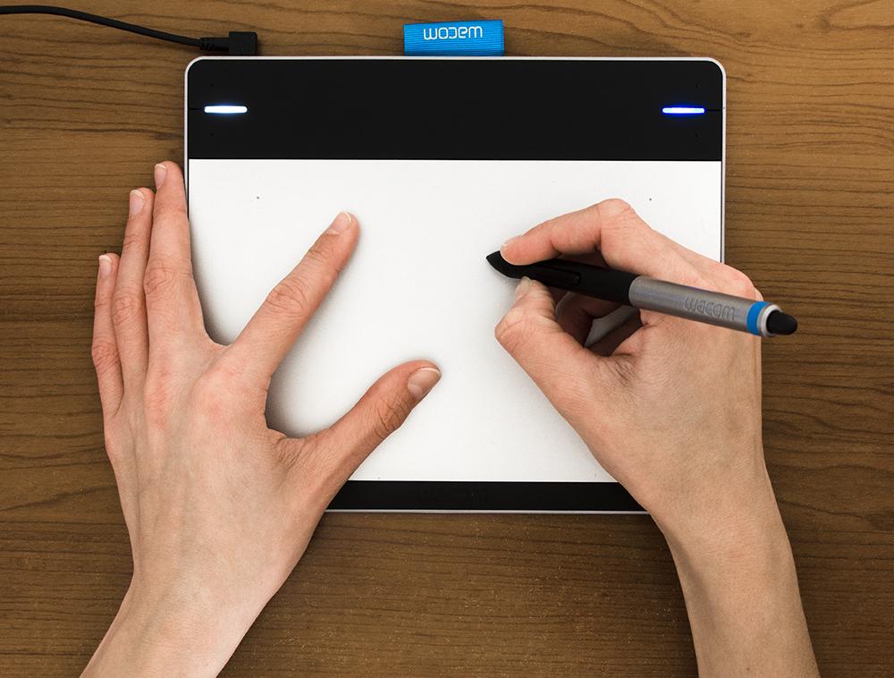 Użytkowanie tabletu graficzngo