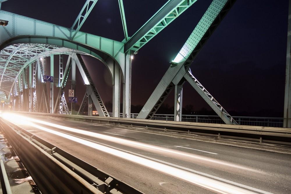 statyw w plener - most