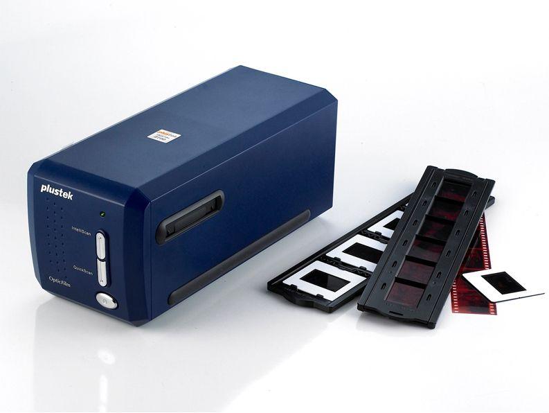 Skaner Plustek OpticFilm 8100 do slajdów i negatywów