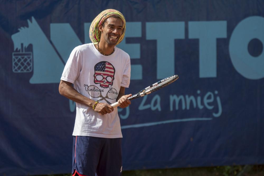Widać, że tenis dla Dustina Browna to coś więcej niż praca. / autor: Szymon Bugaj