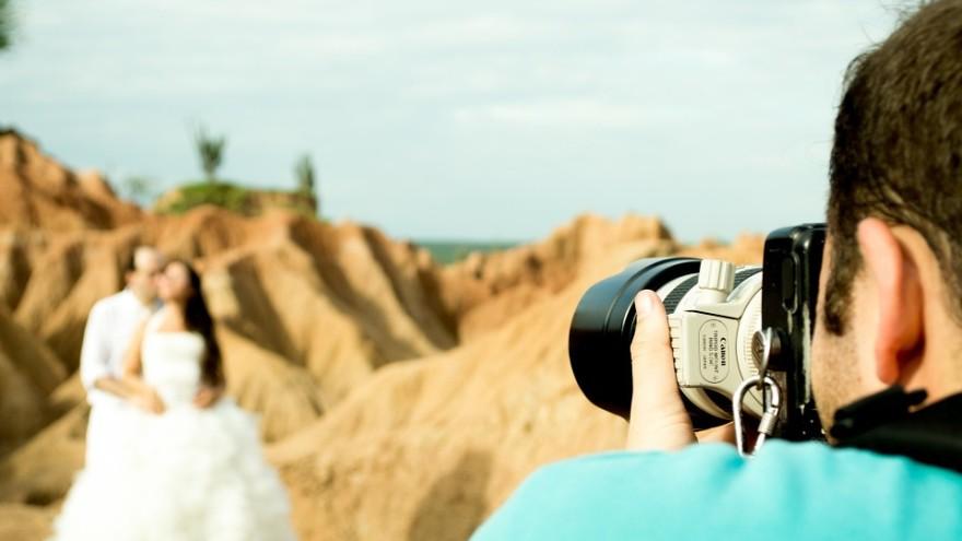 aparat do fotografii slubnej