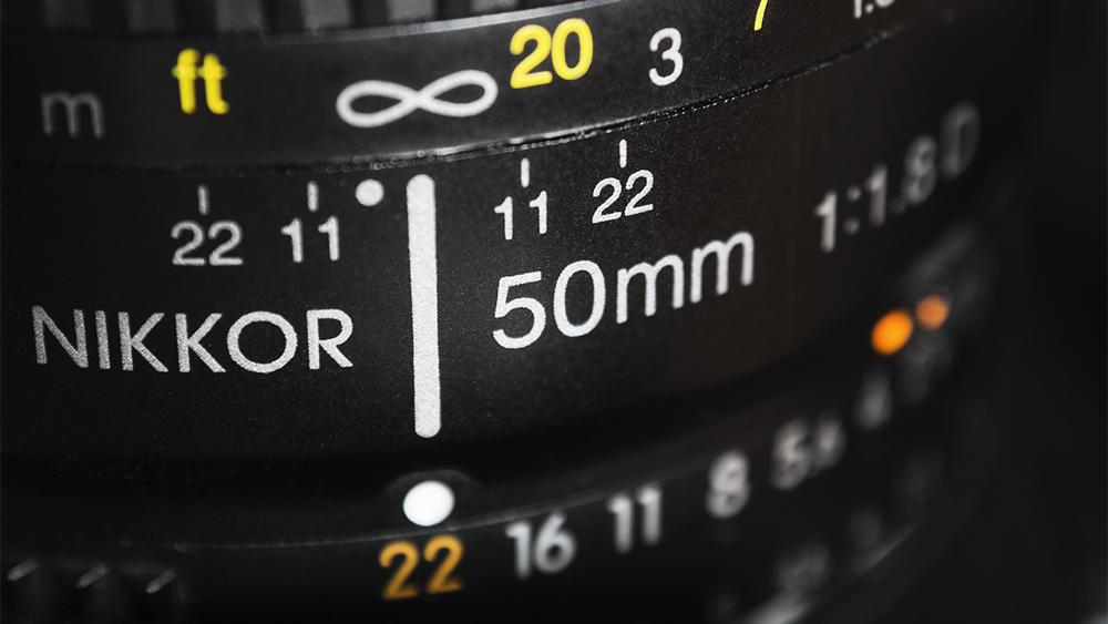 obiektyw 50 mm