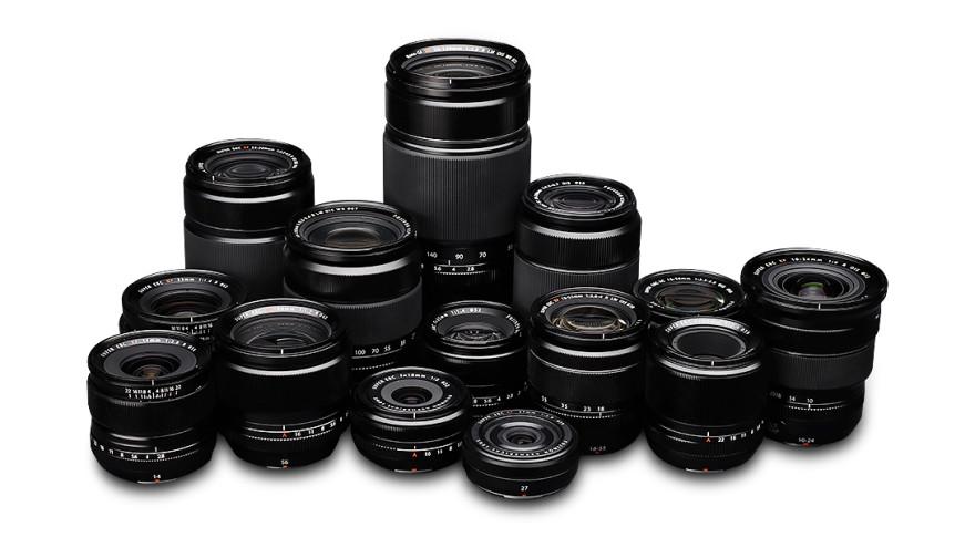 Fujifilm obiektywy system X