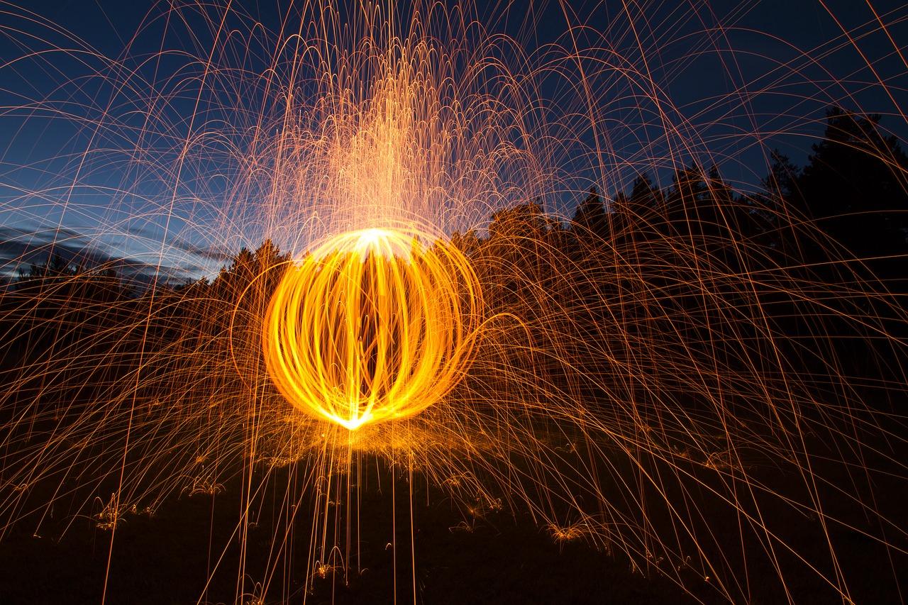 live bulb olympus malowanie światłem