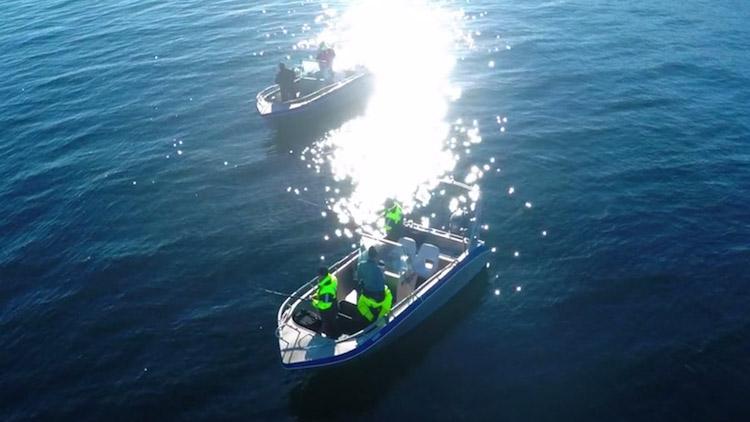Przykład ujęcia zepsutego przez niezastosowanie filtru polaryzacyjnego. Światło słoneczne odbiło się w wodzie tworząc bardzo jasne refleksy, rujnując tym samym ujęcie.