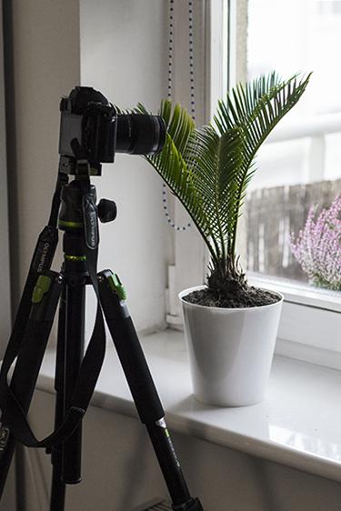 fotografowanie kropel wody statyw aparat