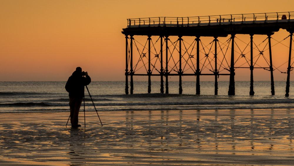 nagrywanie time lapse na plaży