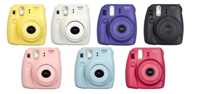 FujiFilm Instax Mini 8S kolory