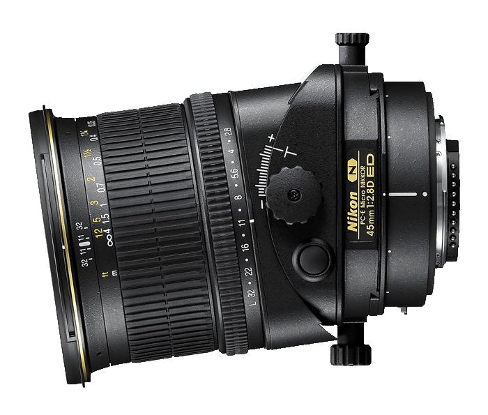 efekt makiety Nikon Nikkor 45 mm f/2.8D PC-E Micro ED