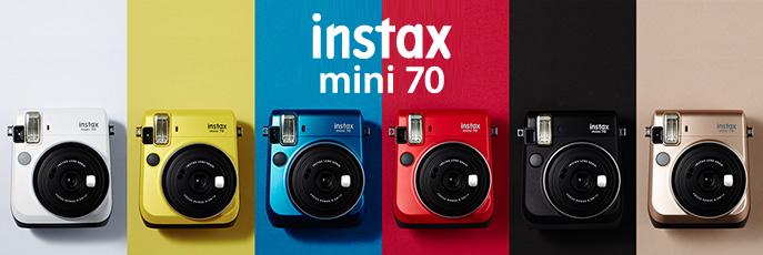 FujiFilm Instax Mini 70 kolorystyka