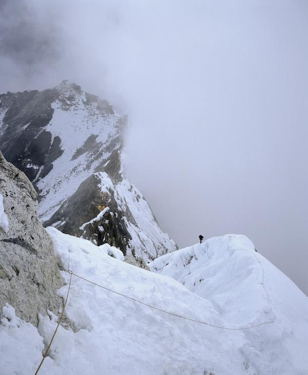 Zestaw do profesjonalnej fotografii - Podczas wspinaczki na Ama Dablam, Himalaje Nepalu, rok 2002Tutaj użyłem obiektywu 65 mm... ale przy formacie klatki 6x7 (cm) czyli odpowiednik 35 mm.