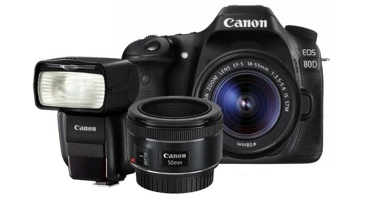zestaw blogera eos 80d canon cashback