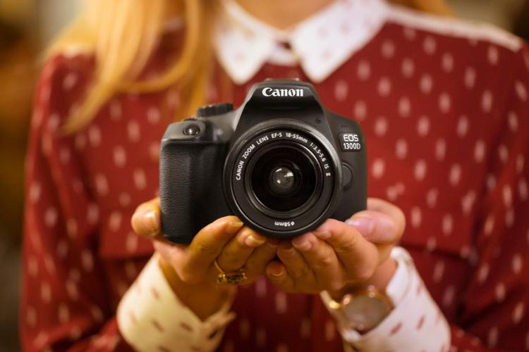 fotografia czarno biała canon 1300d