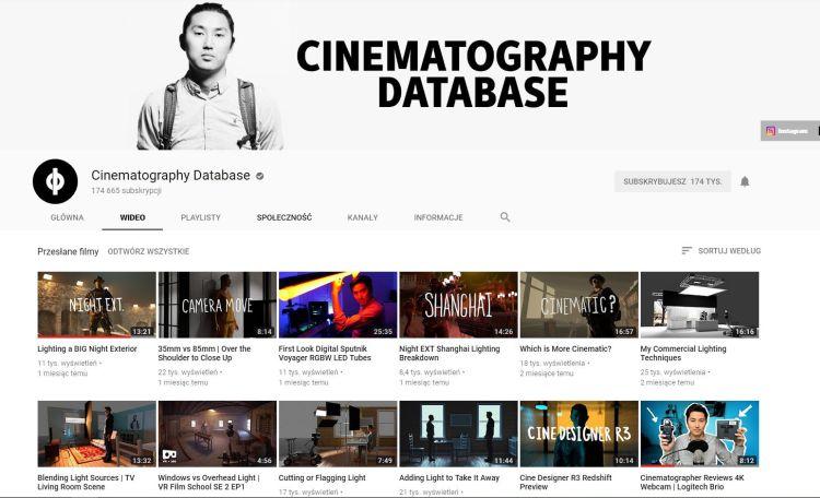 Cinematography Database