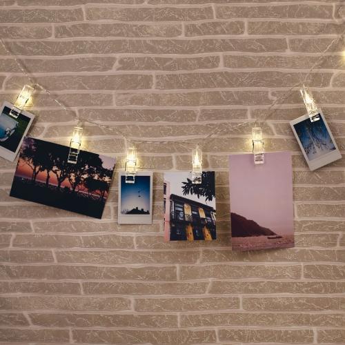 fotografia natychmiastowa klipsy klamerki podswietlane