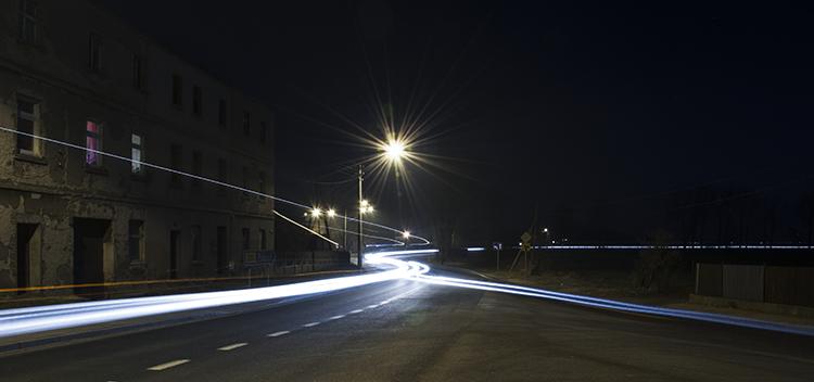 wężyk spustowy zdjęcie nocne strzelno