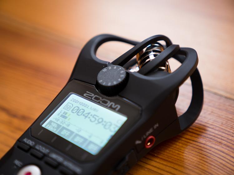 Zoom H1n - nowe pokrętło poziomu audio