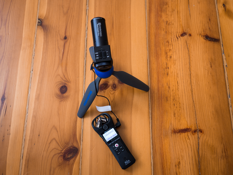 Zoom H1n i mikrofon Nowsonic Kamikaze PRO
