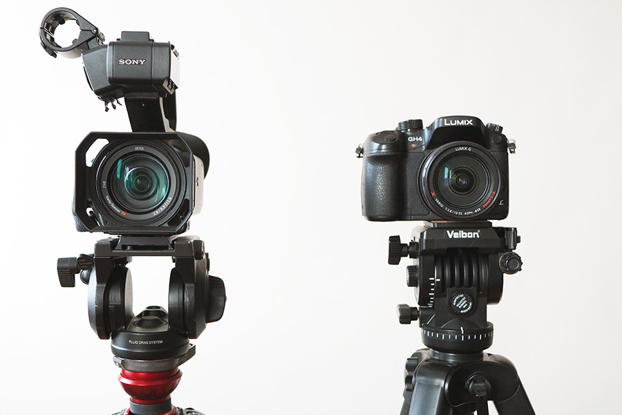 Sony NX80 vs Panasonic GH4