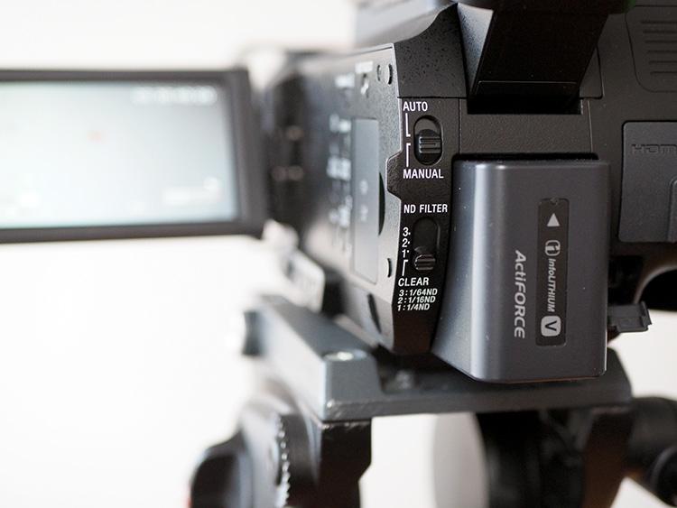 Sony NX80 - filtry ND