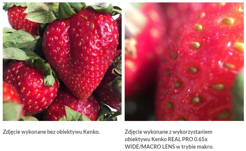fotografia mobilna kenko macro efekt Fotograficzne akcesoria do smartfonów