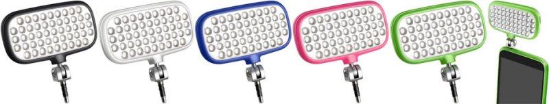 fotografia mobilna lampy metz Fotograficzne akcesoria do smartfonów