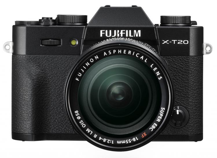 fujifilm x-t20 front migawka elektroniczna