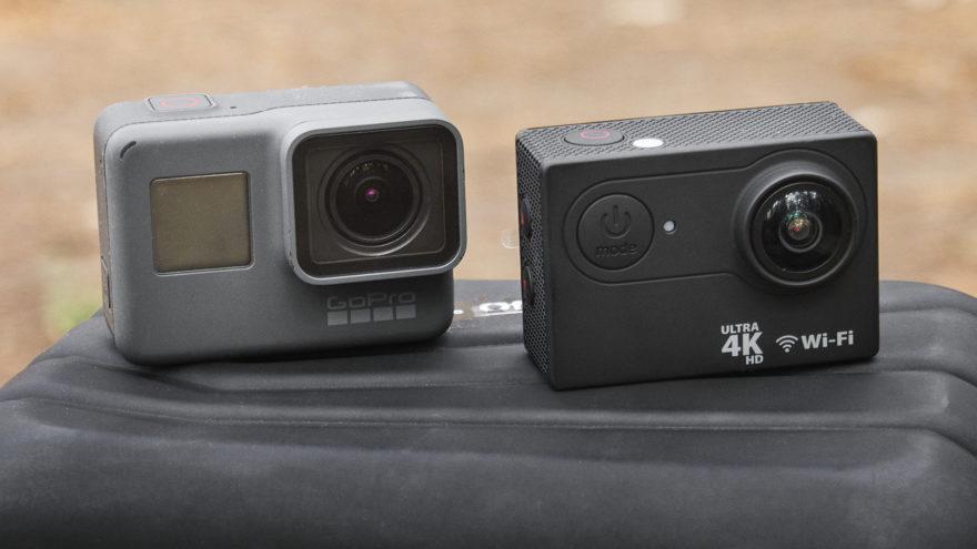 kamery sportowe test forever sc-400 gopro hero 5 glówne foto