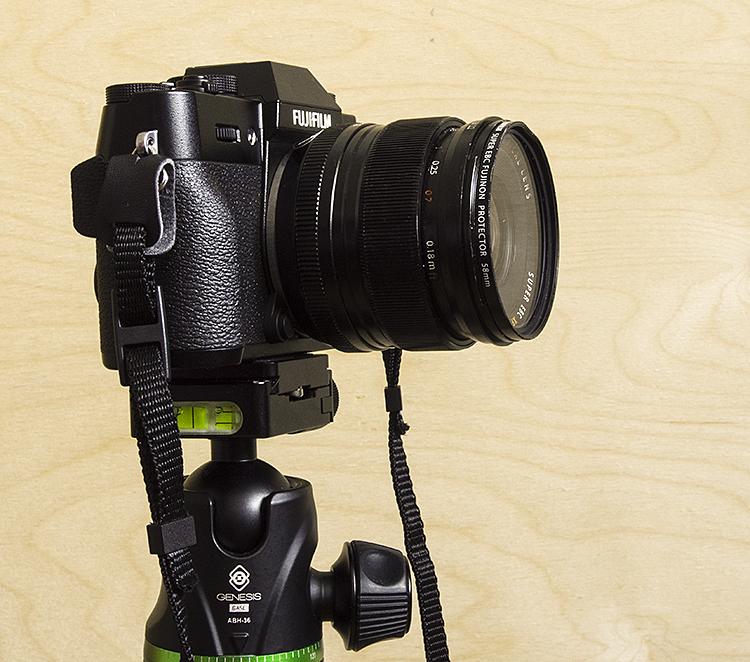 migawka elektroniczna FujiFilm X-T20 statyw