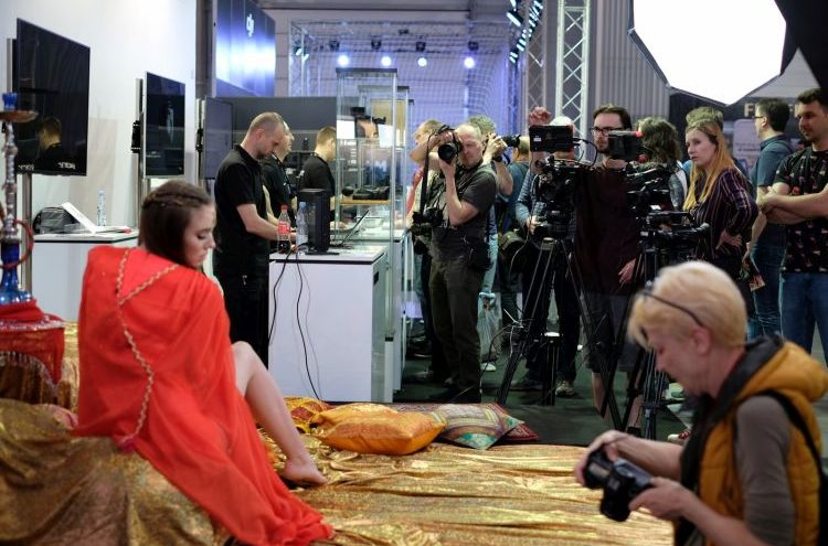 Targi- Sony fot. Jarosław Respondek