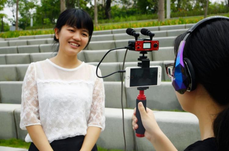 akcesoria filmowe smartfon interfejs audio