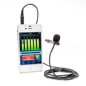akcesoria filmowe smartfon mikrofon krawatowy