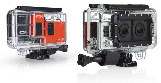 stereoskopia zdjęcia 3d gopro obudowa dual