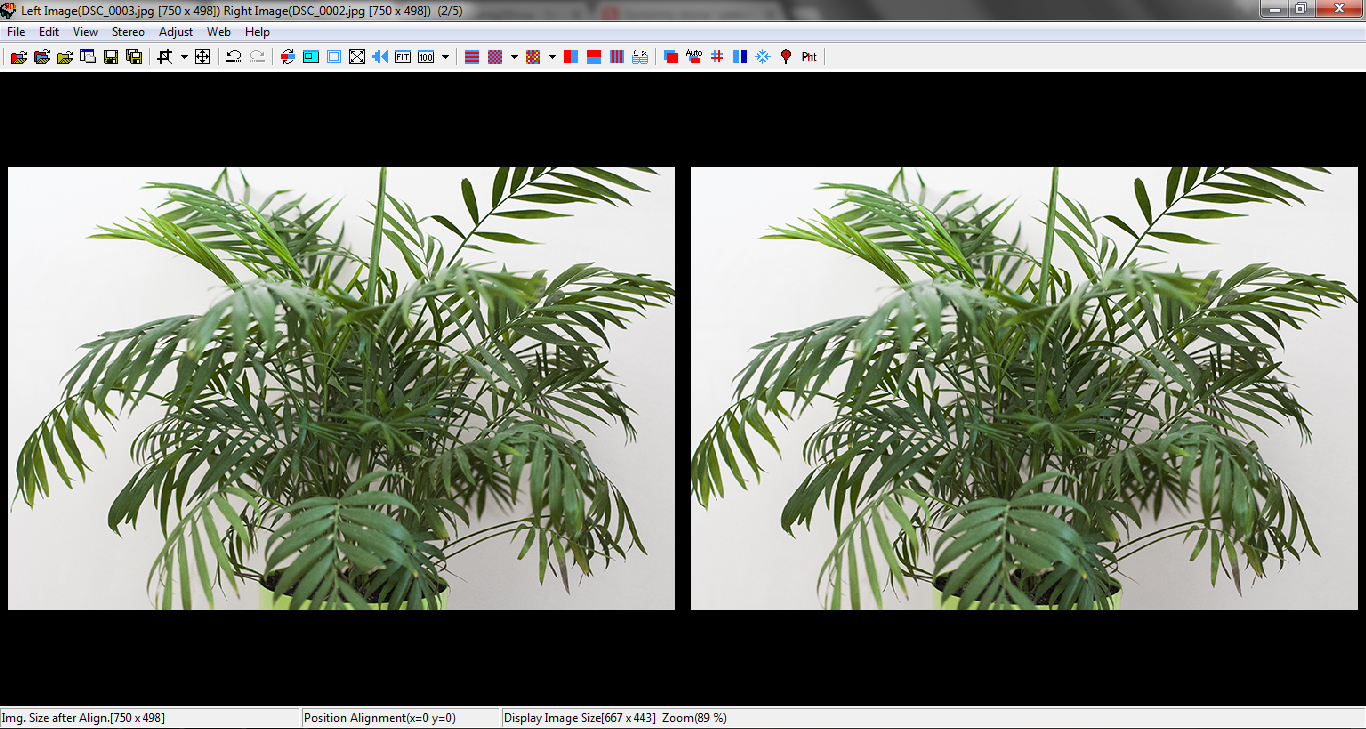 stereoskopia zrzut ekranu 1