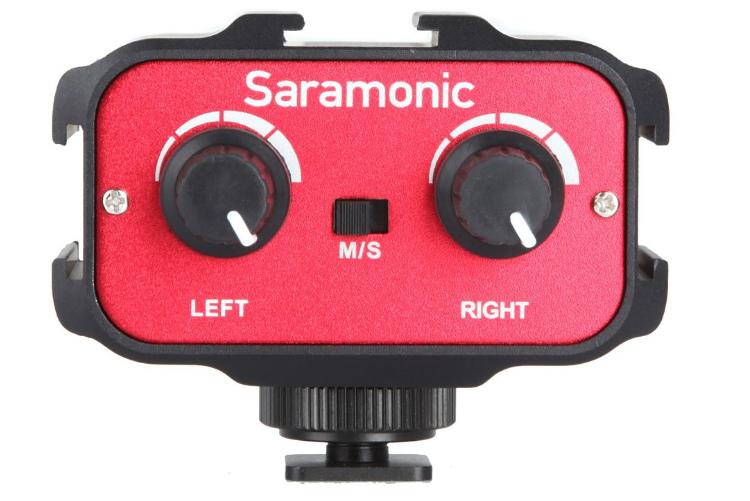 Saramonic Adapter audio SR-AX100 3.5 mm in/out do VDSLR i kamer