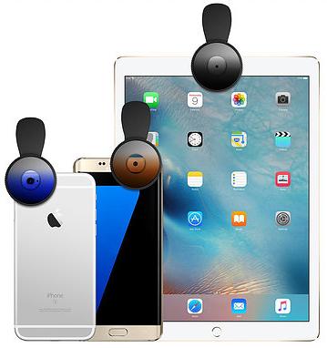 filtry optyczne do smartfonów aukey mocowanie