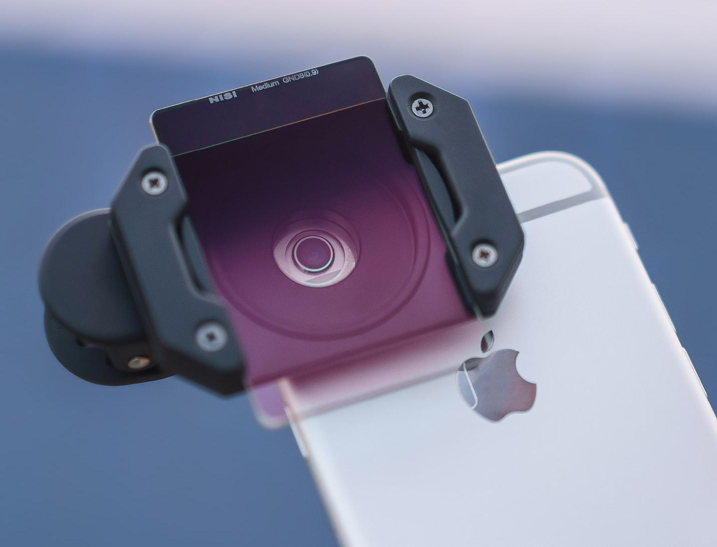 filtry optyczne do smartfonów nisi mocowanie