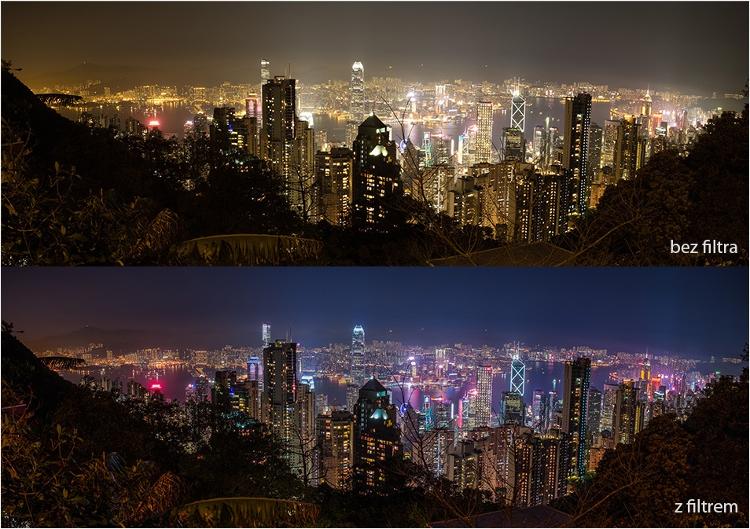 filtry optyczne do smartfonów nisi natural night 2