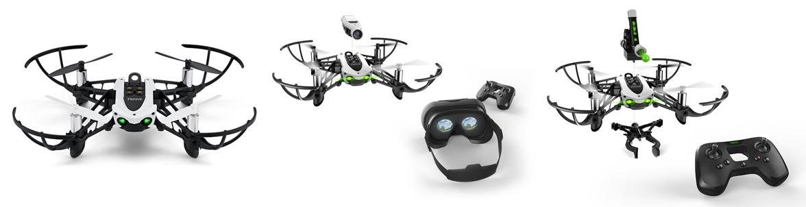 Dron Parrot Mambo sprzedawany jest w kilku wersjach wyposażenia