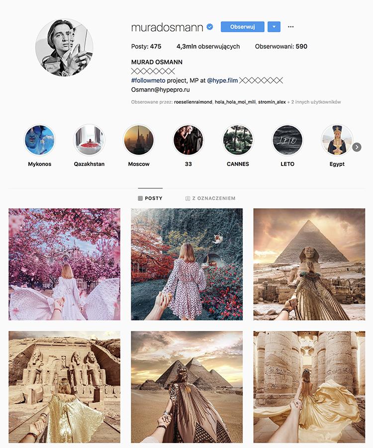 instagram mur ad osman mezczyzna dziewczyna