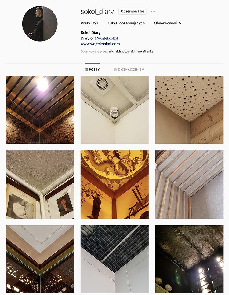 instagram wojtek sokol profil