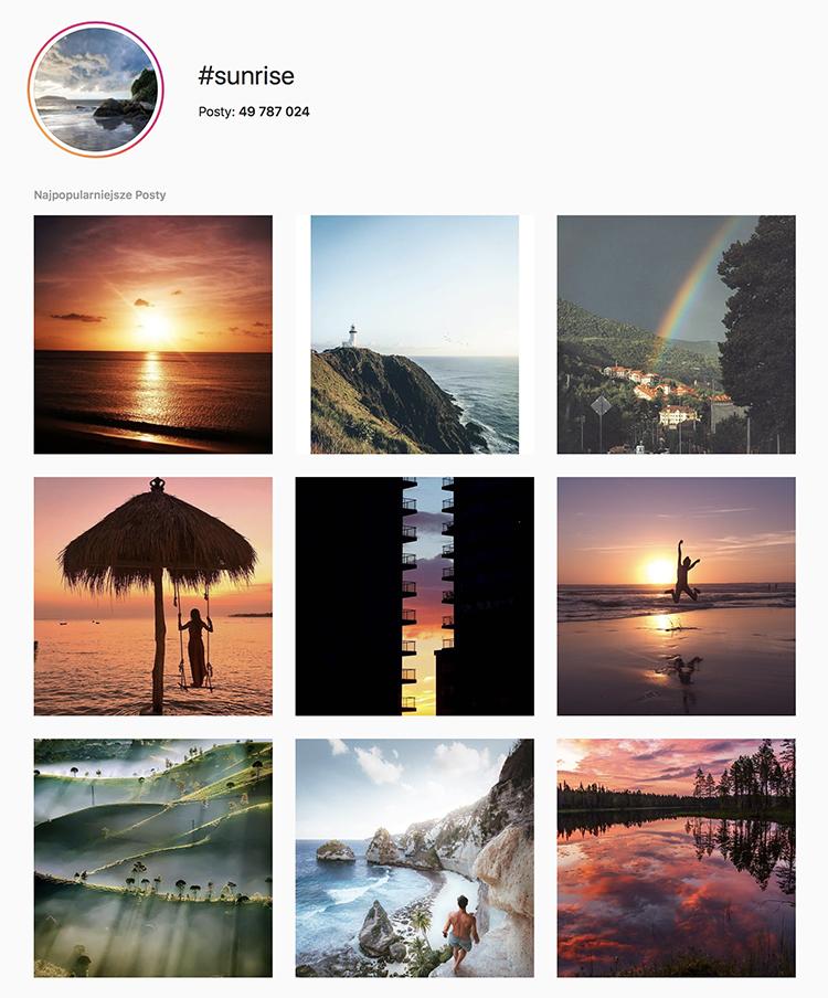 instagram wschod i zachod