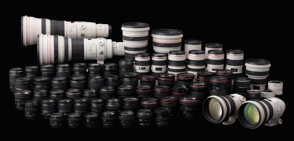 Obiektywy systemu Canon EOS