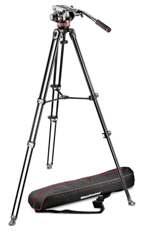 Statyw Manfrotto MN546B głowica 504HD
