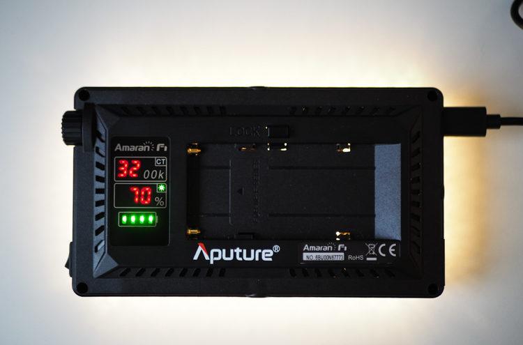 Aputure AL-F7 - temperatura barwowa