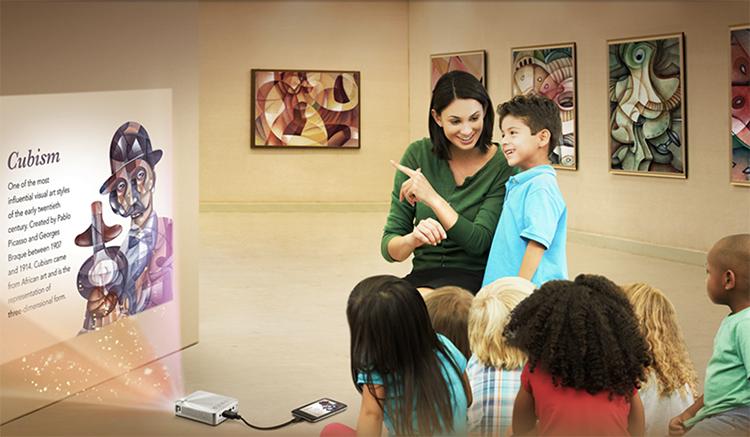 projektor mobilny warsztaty