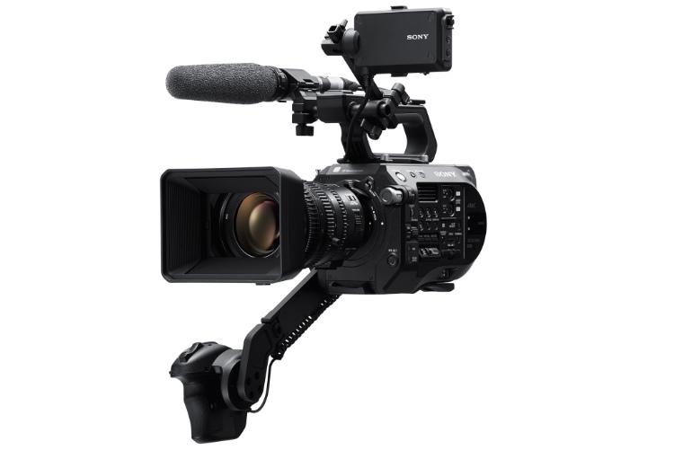 Kamera cyfrowa Sony FS7II + obiektyw 18-110 F:4