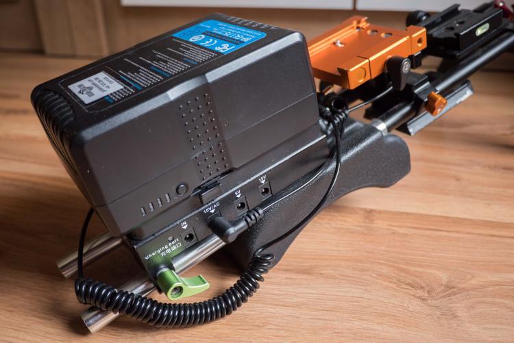 Przeciwwaga v-mount bateria